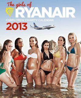 Дешевые авиаперелеты. Ежегодный календарь Ryanair со стюардессами
