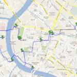 Пешеходные маршруты по Бангкоку, маршрут номер один: Королевский дворец – рынок фруктов
