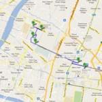 Второй пешеходный маршрут по Бангкоку: Тиковый дворец — башня Bayoke Sky