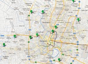 Достопримечательности в окрестностях Бангкока. Пешком нереально - арендуем мотоцикл!