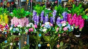 Цветочный рынок в Бангкоке