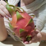 Дракон фрукт – смесь киви и безвкусного киви и косточек от киви