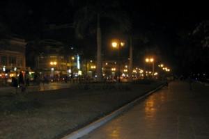 Вечерняя набережная в Пном Пене