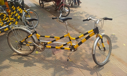 Велосипед на двоих