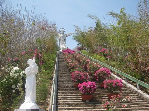 Вьетнам. Вунг Тау. Статуя Иисуса Христа.