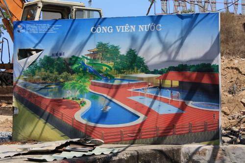Вьетнам. Вунг Тау. Гора Хо Май. Будущий бассейн.