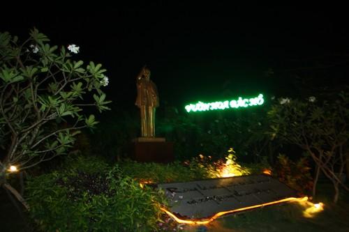 Вьетнам. Вунг Тау. Гора Хо Май. Памятник дедушке Хо.