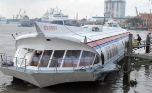 Из Вунгтау в Хо Ши Мин на лодке - ракете за полтора часа