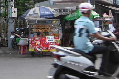 Фастфуд на улицах Вьетнама