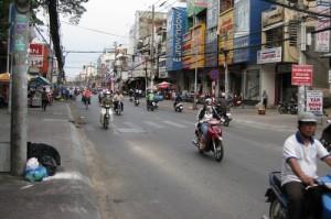 Улица в Хо Ши Мине