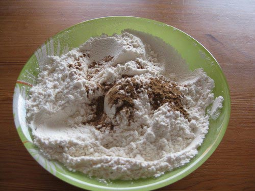 шарлотка с грушами смесь ингредиентов