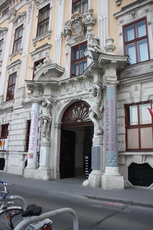 Здание в Вене. Австрия.