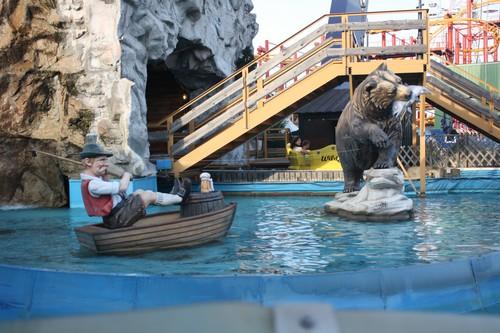 Парк развлечений в Вене. Австрия.