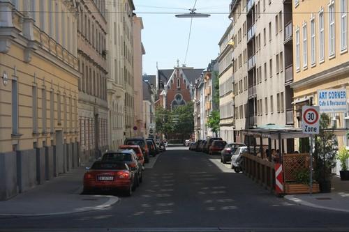 Улица Вены. Австрия.
