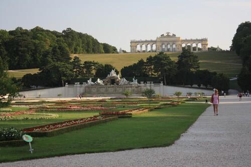 Парк Шёнбрунн. Вена. Австрия.