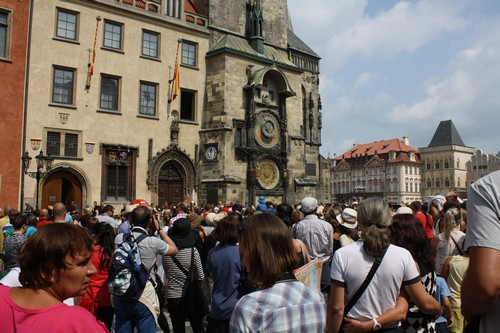 Астрономические часы в Праге (Чехия)