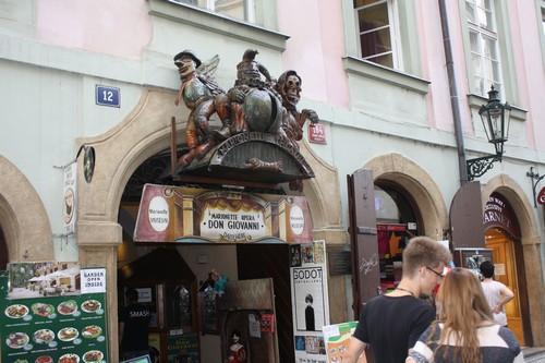 Вот такая мистика в Праге. Чехия.