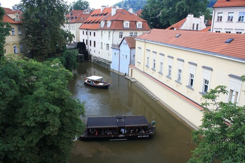 Каналы в Праге. Чехия.