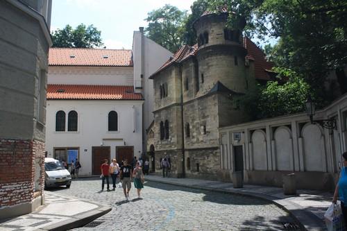 Еврейский квартал Иозефов. Прага. Чехия.