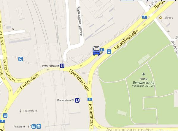 Автобусная станция Вена