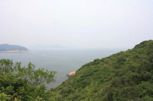 Вид на острове Ченг Чау, Гонконг