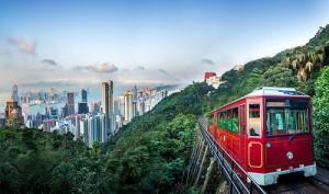 Фуникулер на Пик Виктории в Гонконге