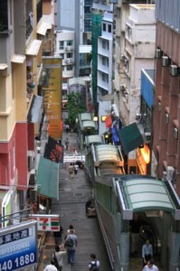 Эскалатор Гонконга