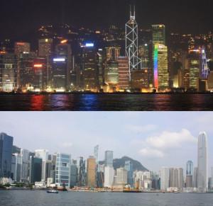 Гонконг ночью и днем. Как доехать в и из аэропорта Гонконга.