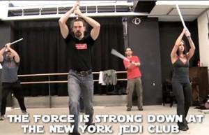 Звездные войны и настоящая академия Джедаев в Нью-Йорке.