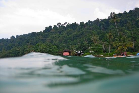 Море на острове Чанг Koh Chang