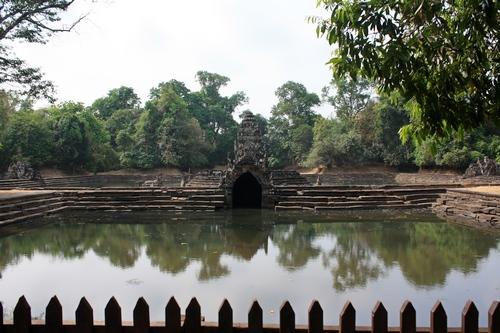 Единственное закрытое место в Ангкоре