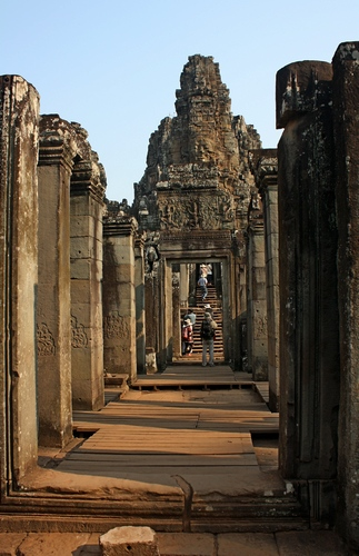 На велосипеде по Ангкору - храмы
