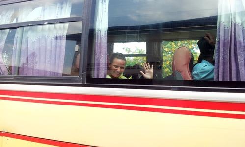Автобус Сиануквиль Пном Пень