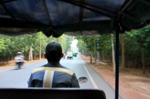На тук туке по Ангкору