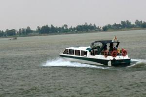 Пном-Пень - Чау Док на лодке