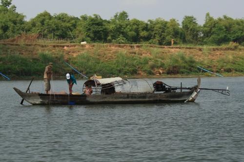 Камбоджийские рыбаки
