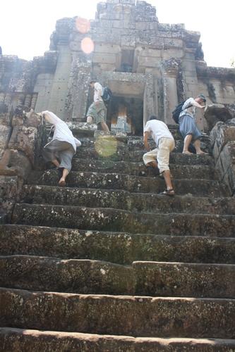 Этот храм отнял все силы.