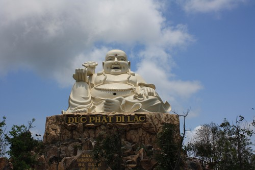 Вьетнам. Вунг Тау. Гора Хо Май. Счастливый Будда.