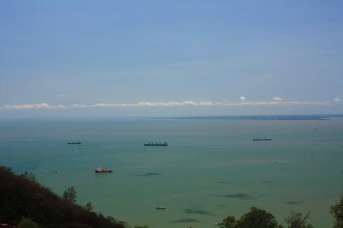 Вьетнам. Вунг Тау. Гора Хо Май. Вид на море.