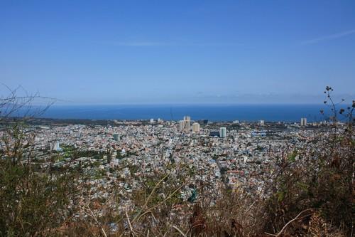 Вьетнам. Вунг Тау. Гора Хо Май. Вид на город днем.
