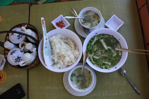 Вьетнам. Вунг Тау. Гора Хо Май. Вкусная еда.