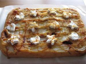 Шарлотка с грушами - грушевый пирог