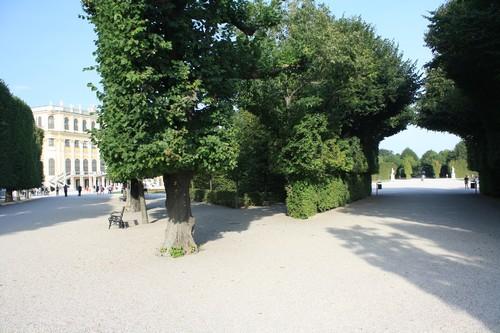 Парк и замок Шёнбрунн. Вена. Австрия.