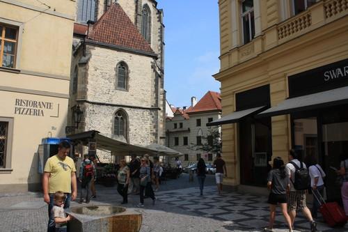 Улицы в центре Праги. Чехия.