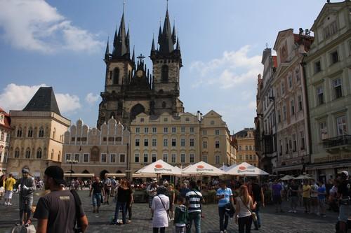 Старе место в Праге (Чехия)