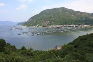Рыбацкая деревня на острове Ламма, Гонконг