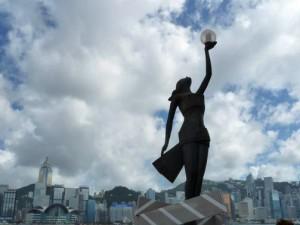 Стелла на Аллее Звезд, Гонконг