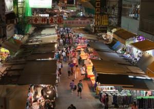 Ночной рынок, Гонконг